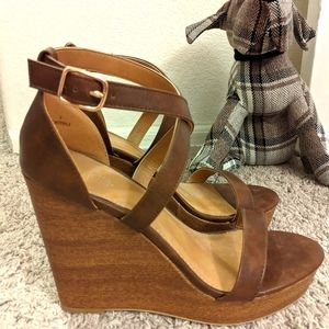 Charlotte Russe Wedge Sandals